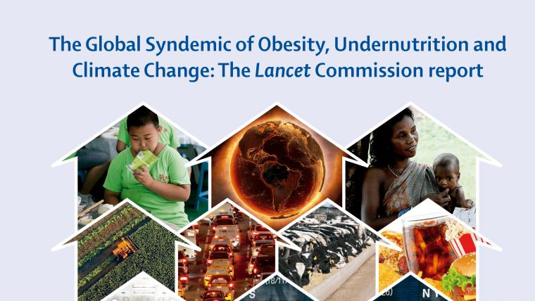 Sindemia Global: novo relatório sobre sistemas alimentares, obesidade, desnutrição e mudanças climáticas