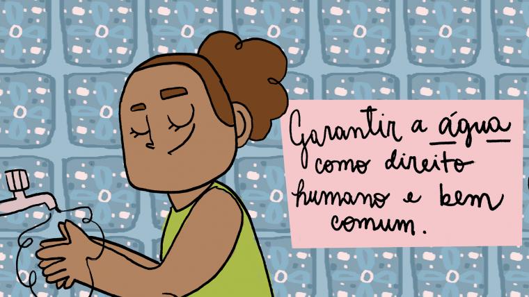 Água como direito humano: da origem ao consumo