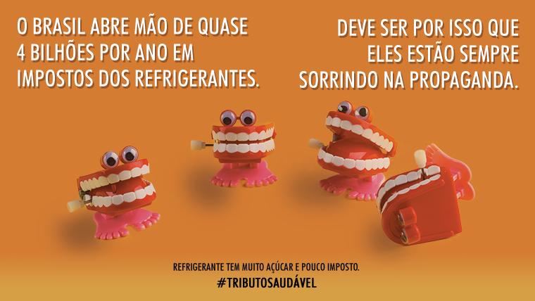 #TributoSaudável: Refrigerante tem muito Açúcar e pouco Imposto